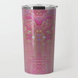Rippling Pink Travel Mug