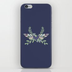 Hearts and Feathers iPhone & iPod Skin