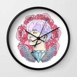 Roses for Jonghyun. Wall Clock