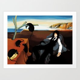The Persistence of Gwady Art Print