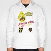 lemongrab Hoodies featuring NES Lemongrab by IF ONLY