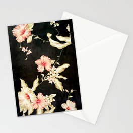 VINTAGE FLOWERS III - for iphone Stationery Cards