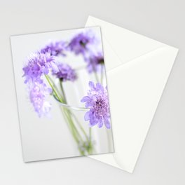 Flores silvestres lilas Stationery Cards