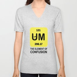 around the element of confusion confusion elements Unisex V-Neck