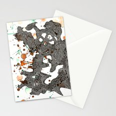Walking mountain  Stationery Cards