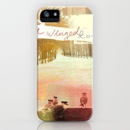 Without Care Like Birds iPhone Case