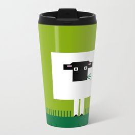 Sheep Metal Travel Mug