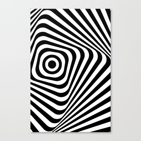abstract striped background Canvas Print