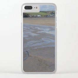 Cornwall Beach Photo 1802 Clear iPhone Case
