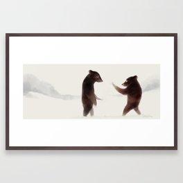 Bears Bears Bears Framed Art Print