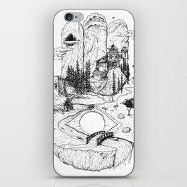 Hamsa in Nature iPhone Skin