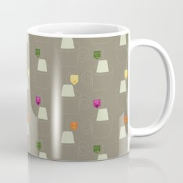 Tea time - Fabric pattern Coffee Mug