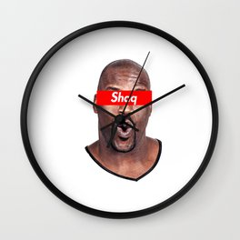 Shaquille Wall Clock