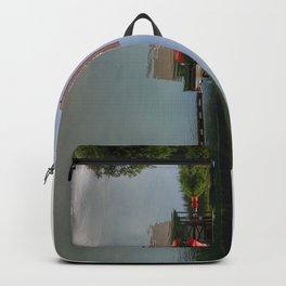 Maligne Lake Boathouse Backpack