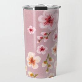 Cherry blossom storm Travel Mug