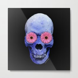 Day Of The Dead 1 by Sharon Cummings Metal Print