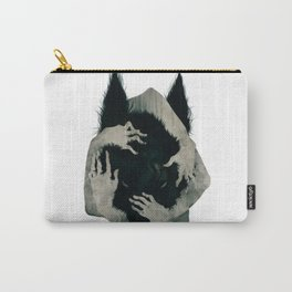 Wolf dark Carry-All Pouch