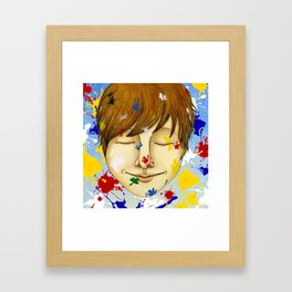 The colorful world Framed Art Print