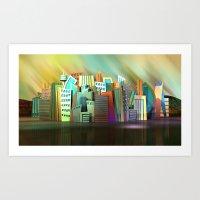 City of Color Art Print