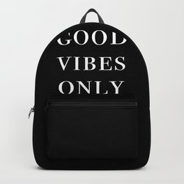 good vibes only III Backpack