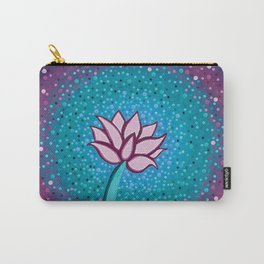 You Can and You Will - Lotus Carry-All Pouch