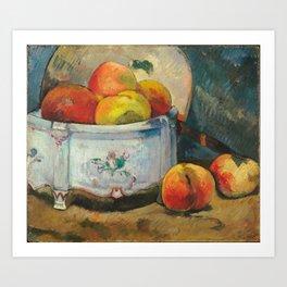 Paul Gauguin - Still Life with Peaches (1889) Art Print