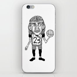 INK BALLER iPhone Skin
