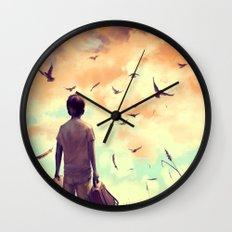 Enjoy the silence Wall Clock