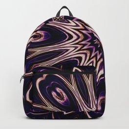 iDeal - Purp Flower Backpack