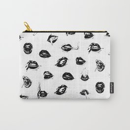 Sexy Lips by Kathy Morton Stanion Carry-All Pouch