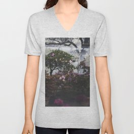 Floral Daydreams Unisex V-Neck