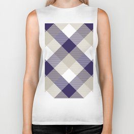 Geometrical Square Abstraction 11 Biker Tank