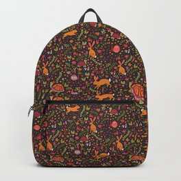 Tortoise and the Hare in Red Backpack