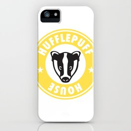 Hufflepuff House iPhone Case