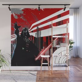 Red is the new Darkside Wall Mural