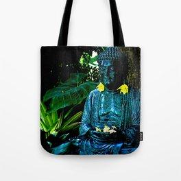 The Green Buddha Tote Bag
