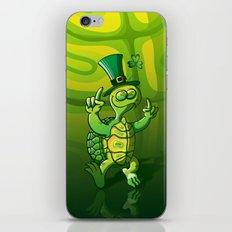 Saint Patrick's Day Green Turtle iPhone & iPod Skin