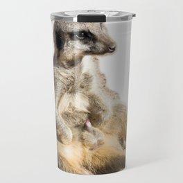 Meerkat Boner Travel Mug
