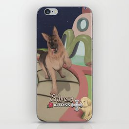 Guarderia Espacial Canina iPhone Skin