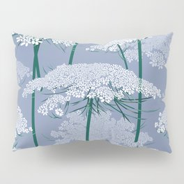 Queen Anne's Lace | Country Blue Pillow Sham