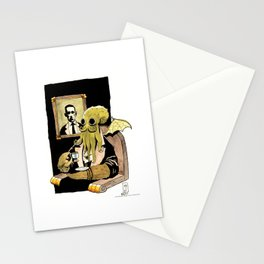 Cthulhu Taking Tea Stationery Cards