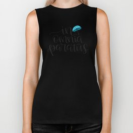 In Omnia Paratus - Ready for Anything -Gilmore Girls Quote Biker Tank