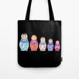 Small, Smaller, Smallest Tote Bag