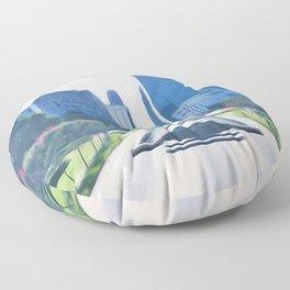 OKC Summers Floor Pillow