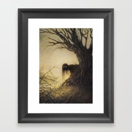 Banshee Framed Art Print