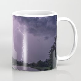 Storm Warning Lightning Strike Coffee Mug