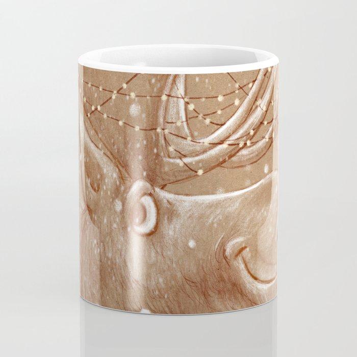 Moose Christmas Coffee Mug