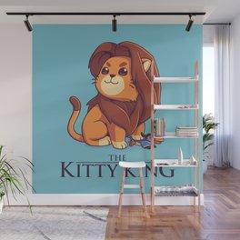 The Kitty King - Light Ver Wall Mural