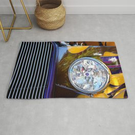 Hot Rod Show Car Light Rug