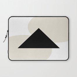 Minimal Tan and Black Laptop Sleeve